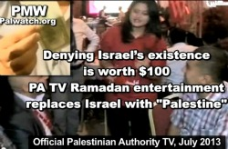 Denying Israels Existence is Worth 100 Dollars