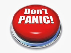 don t panic button