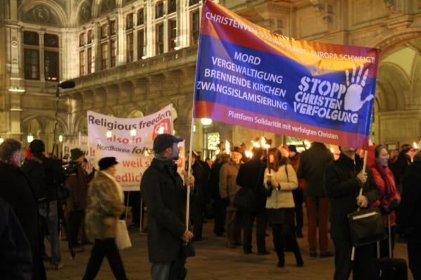 Persecution of Christians on the rise while Europe stays silent