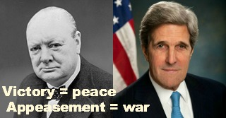 Churchill and Kerry