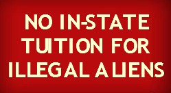 No In-State Tuition for Illegal Aliens