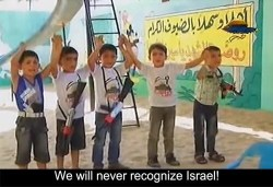 Palestinian Children Hamas Summer Camp