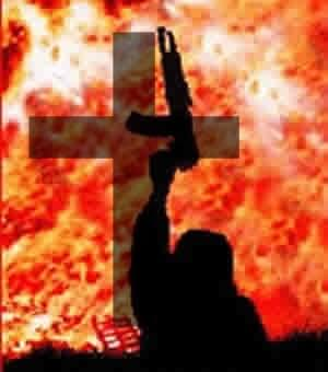 Crucifixion of Christians by Muslims