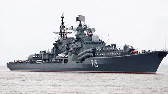 Russian anti-surface destroyer Bystry
