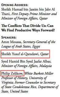 Zelikow Qaradawi