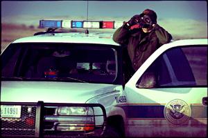 Border Patrol Binoculars