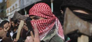 Palestinians celebrate murdering of Jews