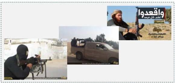 6 Photos showing the military capabilities of ISIS operatives in Sinai against the Egyptian Army