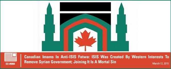 Canadian Imam Anti-ISIS Fatwa