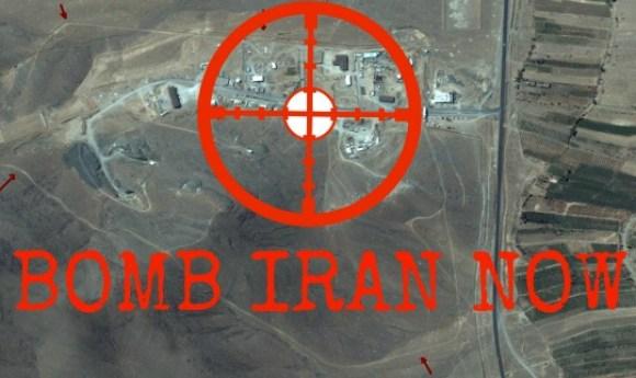 BOMB IRAN NOW