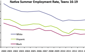 Native Summer Employment Rates