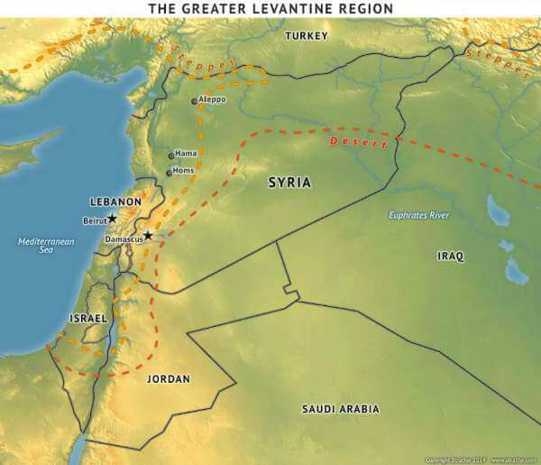Greater Levantine Region