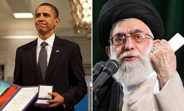President Obama and Ayatollah Khameni
