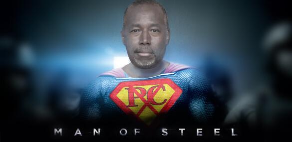 Ben Carson Man of Steel