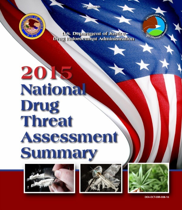 2015 National Drug Assessment Summary