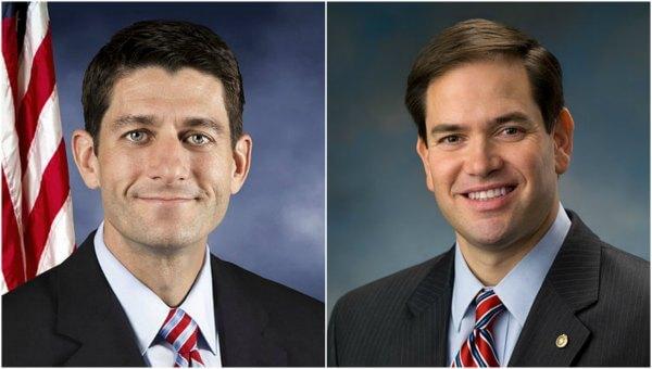 Pro-Amnesty Paul Ryan and Marco Rubio