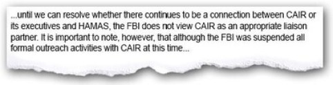FBI suspends outreach with CAIR