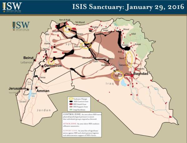 ISIS Sanctuary January 29 2016