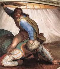 KING DAVID DEFEATS GOLIATH