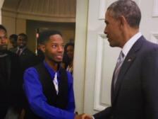 Obama handshake