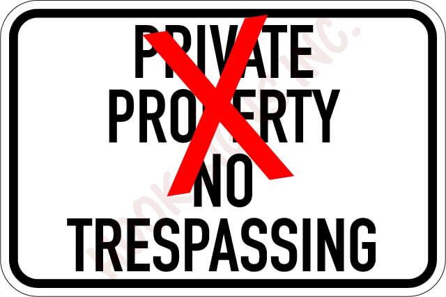 Private-Property-No-Trespas