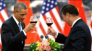 1 Obama and Chinese president Xi Jinping
