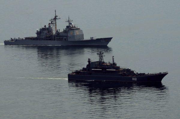 120613-N-RN782-125 USS Normandy