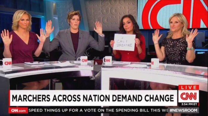 CNN hands up don't shoot