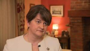 """DUP leader Arlene Foster """"determined"""" to stop abortion coming to Northern Ireland"""