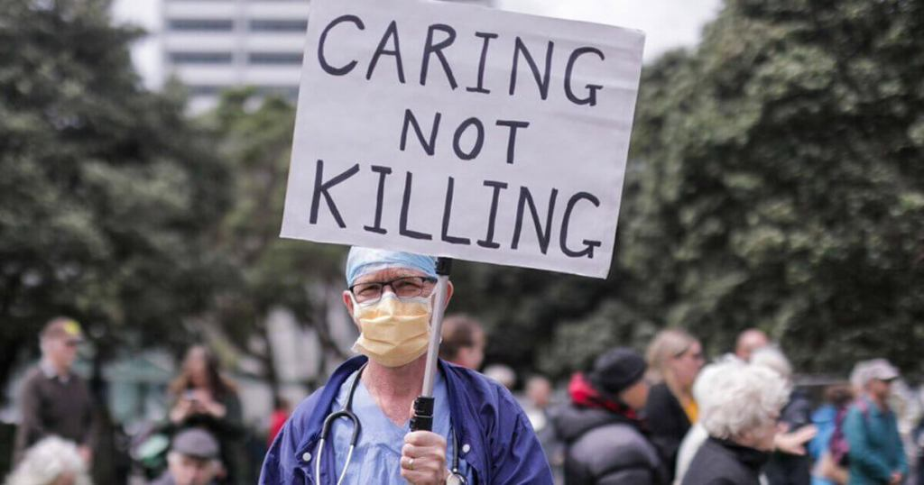 New Zealand to vote in referendum on euthanasia