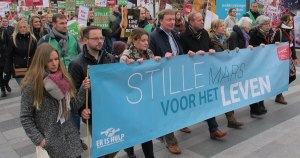 Thousands march for life in the Netherlands following poll showing youth now most pro-life generation