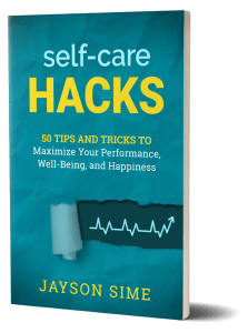 self-care hacks by jayson sime book
