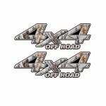 4x4 Truck Decals 32