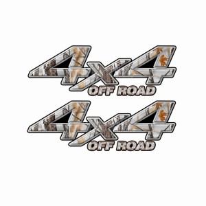 4x4 Truck Decals 12