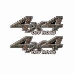4x4 Truck Decals 16
