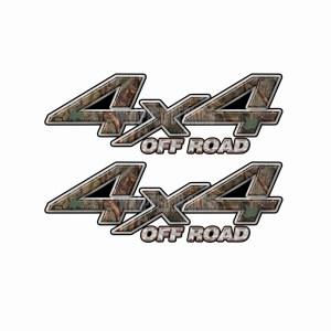 4x4 Truck Decals 1