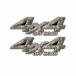 4x4 Truck Decals 39
