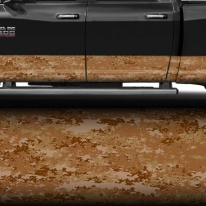 Desert Digital Camo Rocker Panel Wrap