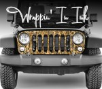 Grill Wrap Camo Tallgrass Wrap for Jeep Wrangler Grill