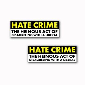 Hate Crime Stickers