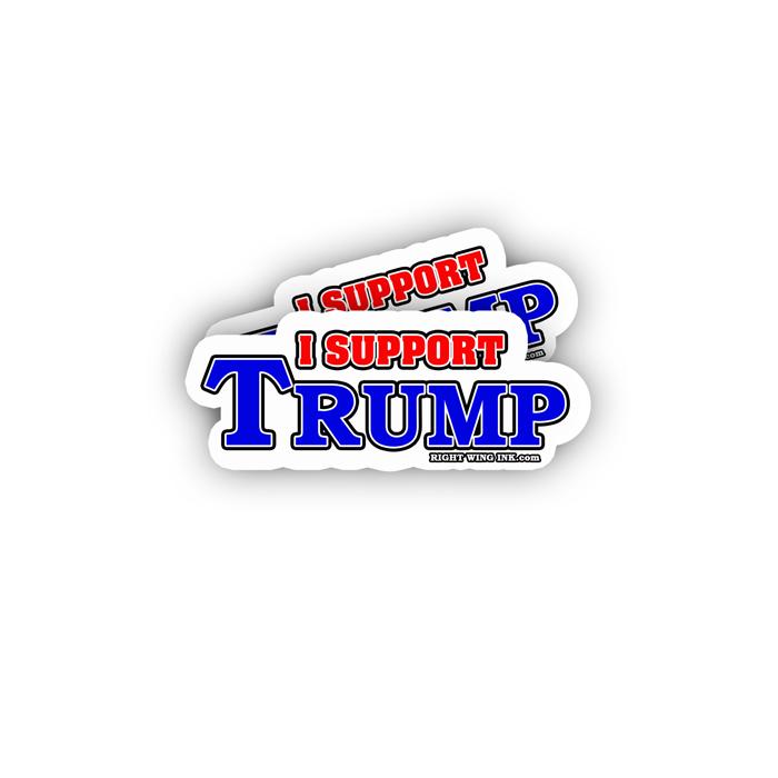 I Support Trump Sticker