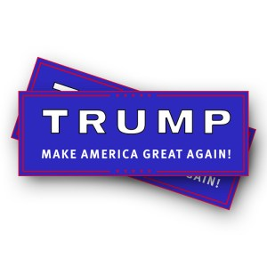 Trump Make America Great Again Stickers