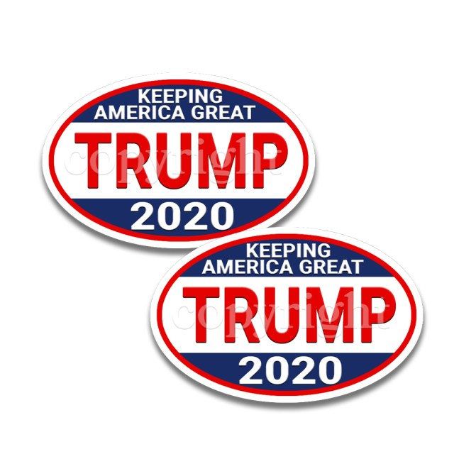 Trump 2020 Keeping America Great Stickers 2