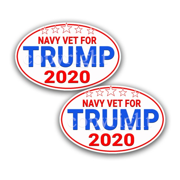TRUMP 2020 Stickers 2 Pack 3