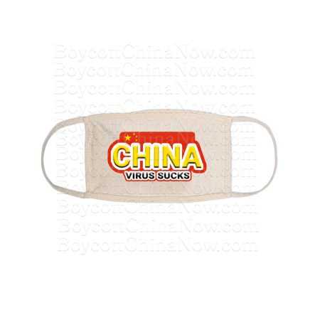 China Virus Sucks Face Mask Wt