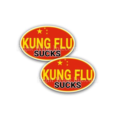 Kung Flu Stickers