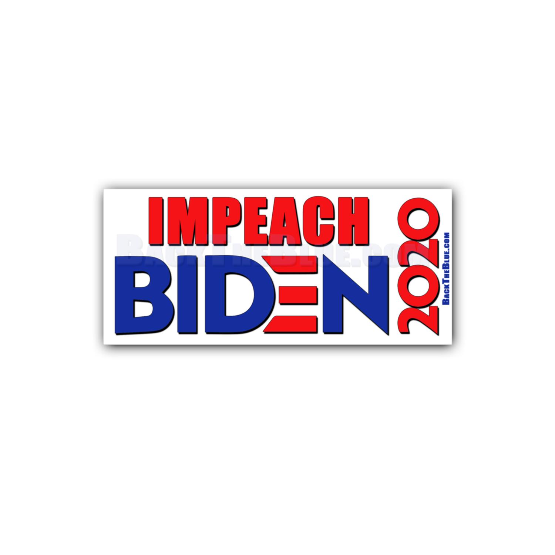 Impeach Joe Biden Stickers