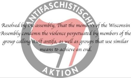 WI Assembly Dems Pivotal Moment: The Antifa Resolution