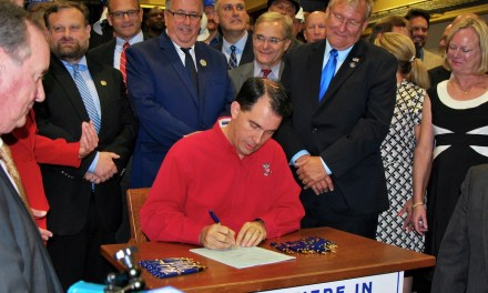 Walker Signs the Foxconn Bill into Law