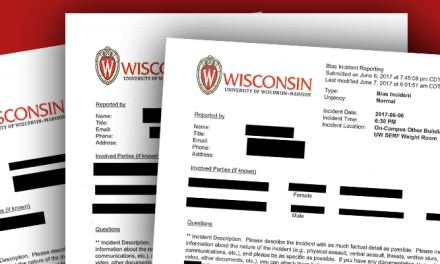 UW Madison Hate and Bias Reporting System Clogged With Pettiness and Tattling